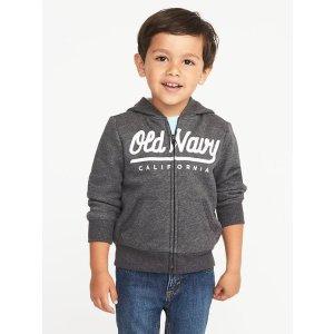 Logo Fleece Hoodie for Toddler Boys