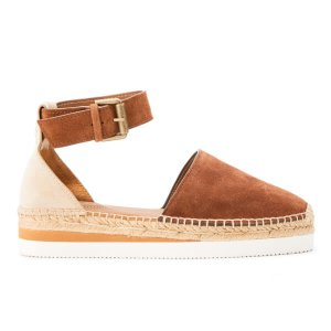 See By Chloé Women's Leather Espadrille Sandals - Suola Tan - Free UK Delivery over £50