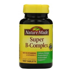 Nature Made Super B-Complex, Tablets, 140 tablets