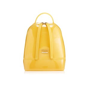 Furla Women's Candy Mini Backpack - Senape B - Free UK Delivery over £50