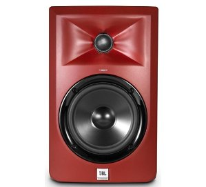 $99JBL LSR305 5 in. Limited Edition Powered Studio Monitor Matte Red