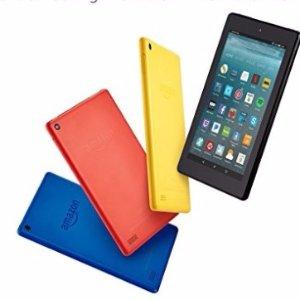 购任意三件全新品可享8折Amazon现有精选多款型号 Fire Tablets热卖