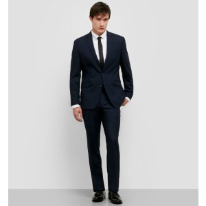 Slim-Fit Nested Suit with Finished Hem | Kenneth Cole