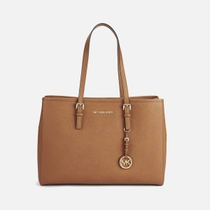 MICHAEL MICHAEL KORS Women's Jet Set Large Tote - Luggage - Free UK Delivery over £50