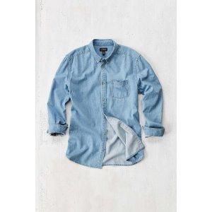 Stevens Essential Denim Button-Down Shirt | Urban Outfitters