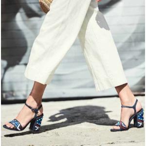 Both Embellished Block Heel Sandals - Shoes | Shop Stuart Weitzman