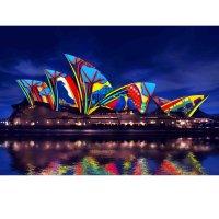 Vivid Sydney 悉尼灯光音乐节 2小时游船+自助晚餐