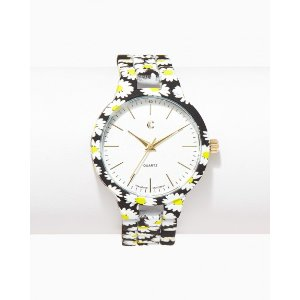 Ditsy Floral Link Watch | Charming Charlie