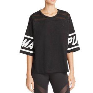 PUMA Women's Burn Out T-Shirt at Amazon Women's Clothing store:
