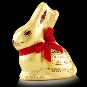 Milk Chocolate Lindt GOLD BUNNY (100g) | Lindt Easter Chocolate