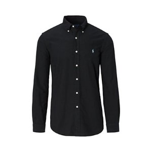 Garment-Dyed Cotton Shirt - Standard Fit   Casual Shirts