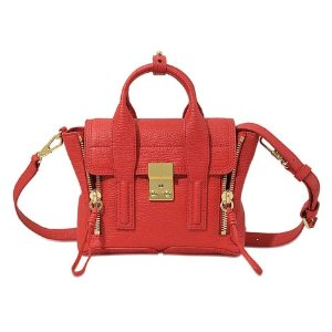 Mini Pashli Satchel Bag 3.1 Phillip Lim Red - Monnier Frères