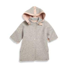 Toddler's, Little Girl's &Girl's Hooded Cape
