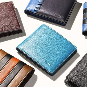 30% OFFCoach Thanksgiving Event Men's Wallet Sale