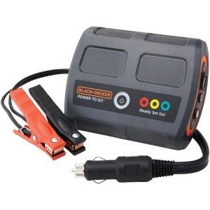 98black decker power2go 12伏 锂电池便携式 汽车应急启动电源