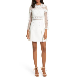 Bellis Lace Fit & Flare Dress