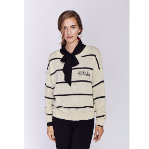 Whiskey Stripes Happy Hour Sweater