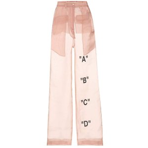 Exclusive To Mytheresa.com – Tomboy Organza Trousers - Off-White | mytheresa.com