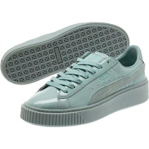 Basket Platform Patent Women's Sneakers, buy it @ www.puma.com