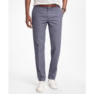 Milano Fit Micro-Print Chinos - Brooks Brothers
