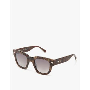 Acne Studios Frame Metal in Brown/Bordeaux