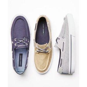 Tommy Hilfiger Men's Pharis Canvas Boat Shoes - All Men's Shoes - Men - Macy's