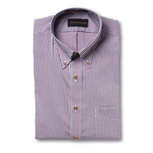 Performance Cotton Tattersall Sport Shirt by Allen Edmonds