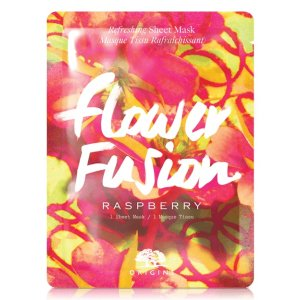 Flower Fusion™ Raspberry Refreshing Sheet Mask