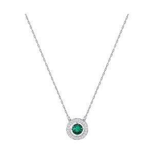 Forever Birthstone Necklace, May, Green - Jewelry - Swarovski Online Shop