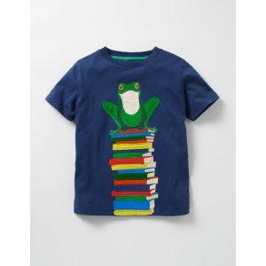 Big Appliqué T-shirt B0047 Tops & T-shirts at Boden