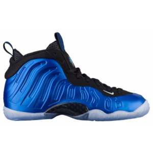 Nike Little Posite One - Boys' Grade School - Basketball - Shoes - Dark Neon Royal/White/Black