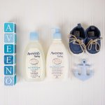Aveeno & JJ Baby Cream Bath Set Sales
