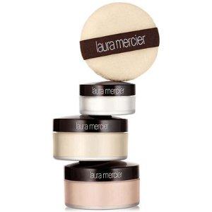 Laura Mercier 3-Pc. Set & Glow Face Powder Trio - Laura Mercier - Beauty - Macy's