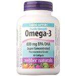 Webber Naturals Omega-3 超浓缩鱼油80粒
