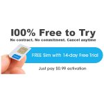 FreedomPop GSM 4G LTE SIM Kit