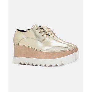 Pale Gold Elyse Shoes - Stella Mccartney