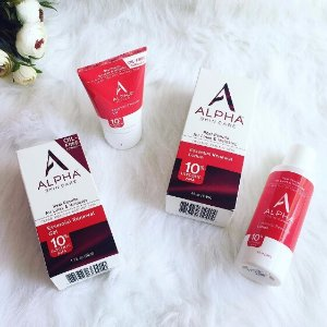Extra 15% off Alpha Skin Care Sales Event