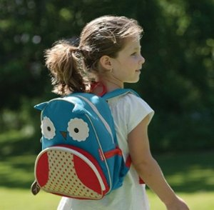 $9.99Skip Hop Zoo Toddler Kids Insulated Backpack Otis Owl, 12 inches, Blue