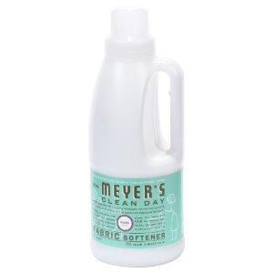 Mrs. Meyer's Clean Day Fabric Softener, Basil, 32 Oz, 32 Loads   Jet.com