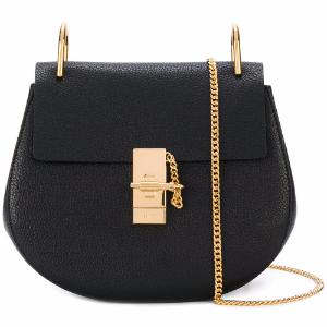 Drew Small Leather Shoulder Bag