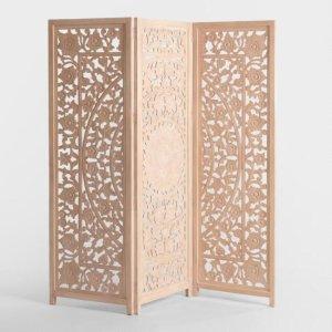 Natural Carved Zaria Screen