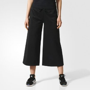 adidas Brklyn Heights Wide Leg Seven-Eighth Pants