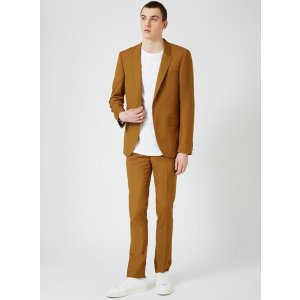 Dark Camel Ultra Skinny Fit Suit