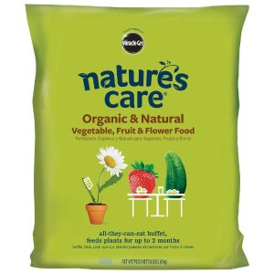 Miracle-Gro 8 lb. Nature's Care Organic Vegetable, Fruit and Flower Food-100132 - The Home Depot