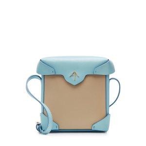 Mini Pristine Leather Shoulder Bag - Manu Atelier