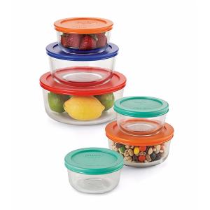 Pyrex® 连盖12件玻璃碗 | Bon-Ton