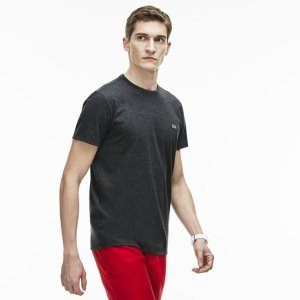 Men's Crew Neck Pima Cotton Jersey T-Shirt | LACOSTE