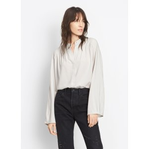 Shirred Full Sleeve Blouse