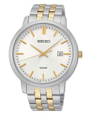 史低!Seiko   'Gliese' Swiss Quartz 男款腕表