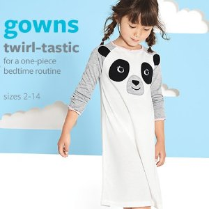 50% Off + Extra 20% Off $50 + Free ShippingJammies @ Carter's